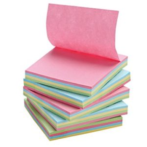 Sticky Note Pad Mix Colour