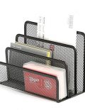 Letter Mail Mesh File Holder Document Desk Office Organizer