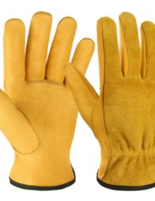 driver-working-leather-gloves-bright-yellow-strong-orange&very-dark -mostly-black-yellow