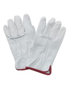 driver-working-leather-gloves-grayish blue&dark-moderate-red