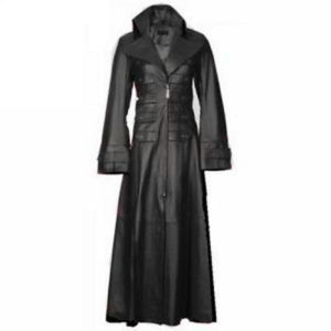 genuine-cow-leather-coat women