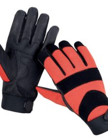 mechanics-working-leather-gloves-black&soft-red