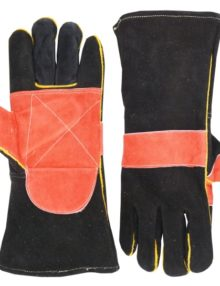 welding-leather-gloves-black&soft-red